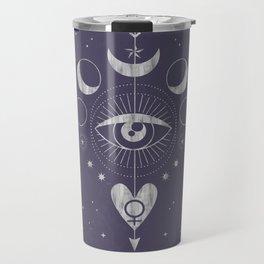 L'Imperatrice or L'Empress Tarot Travel Mug