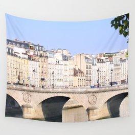 Bridge of Paris Wall Tapestry
