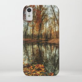 Leaves Are Falling Autumn Is Calling iPhone Case