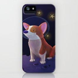 Luna the Space Corgi iPhone Case