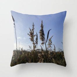 Reed plumes Throw Pillow