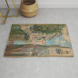 Vintage poster - Venice Rug