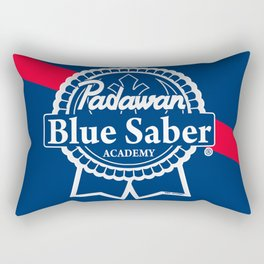 Padawan Blue Saber Academy Rectangular Pillow