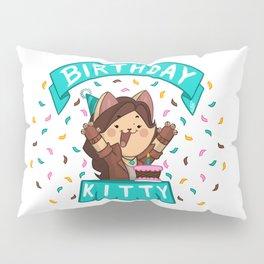 Birthday Kitty (2018) Pillow Sham