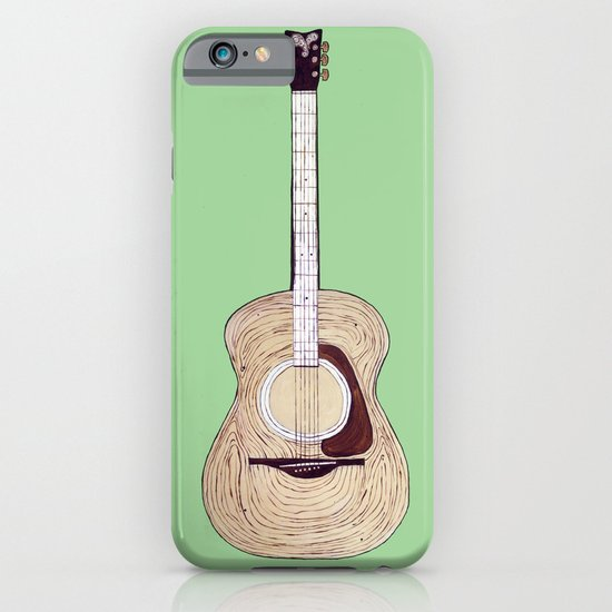 Acoustic Guitar iPhone & iPod Case