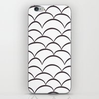 stark iPhone & iPod Skins featuring Stark Scales by SonyaDeHart