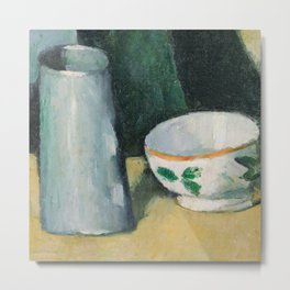 Bowl and Milk-Jug Metal Print