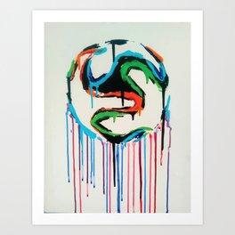Bleed World Cup Art Print