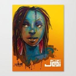 Afro Brazilian Canvas Print