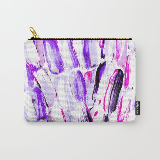 Lavender Spring Sugarcane Carry-All Pouch
