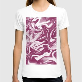 """ABSTRACT LIQUIDS XLVI """"46"""" T-shirt"""