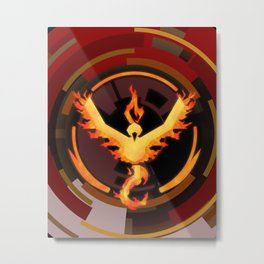 Team Valor Metal Print