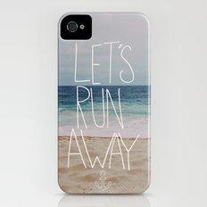 Let's Run Away: Sandy Beach, Hawaii iPhone (4, 4s) Slim Case