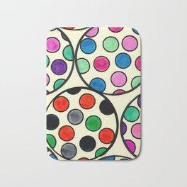 Spheres of Dots Bath Mat