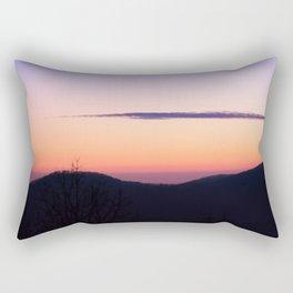 North Georgia Mountains at twilight Rectangular Pillow