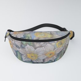 Narcissus SPRING FLOWERS IN THE GARDEN Fanny Pack