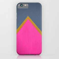Classy Arrow Pink, Gold and gray iPhone 6s Slim Case