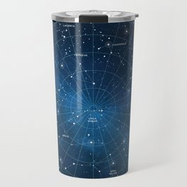 Constellation Star Map Travel Mug