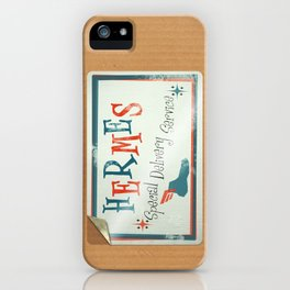 Hermes Special Delivery Service iPhone Case