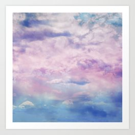 Cloud Trippin' Art Print