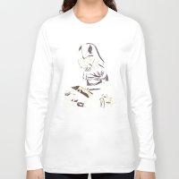 dark side Long Sleeve T-shirts featuring Dark Side by yortsiraulo