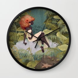 Tranquil Reflections Wall Clock