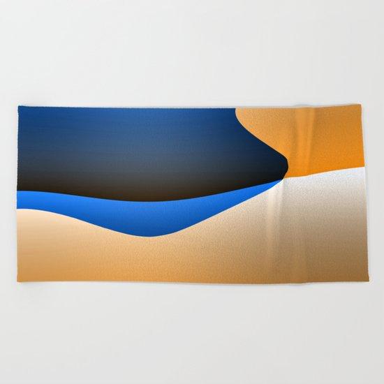 Abstract I Beach Towel