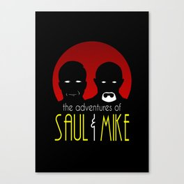 The Adventures of Saul & Mike Canvas Print
