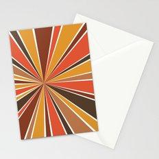 70's Star Burst Stationery Cards