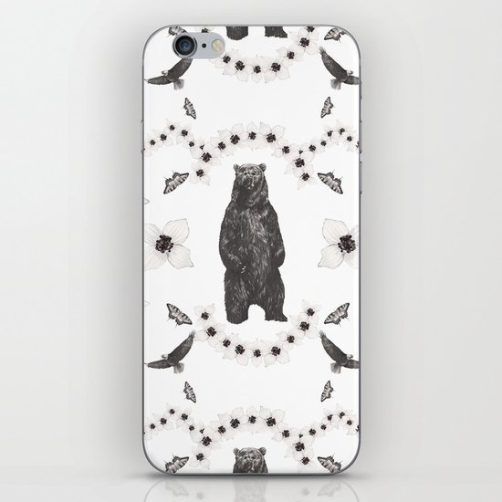 North America's Flora and Fauna iPhone & iPod Skin