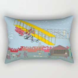 First Flight 1903 Rectangular Pillow