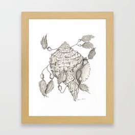Shell of Faith Framed Art Print