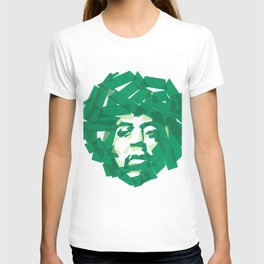 Jimmy Hendrix Pop Art  T-shirt