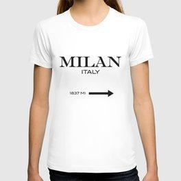 Milan - Italy T-shirt