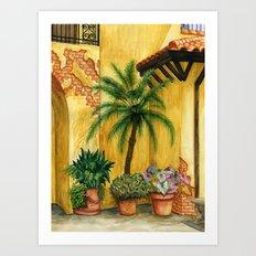 Quiet Corner Art Print