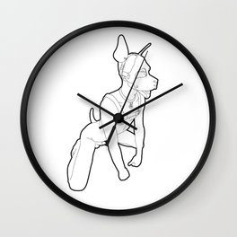 Skinflint Pup Play Wall Clock