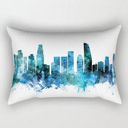 Los Angeles California Skyline Rectangular Pillow