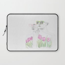 Glasses and Spring Laptop Sleeve