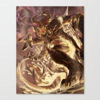 diablo Canvas Prints featuring Diablo by daniel_b_demented