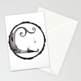 'Think I'll just stay in today' - Familiar and Friend Stationery Cards