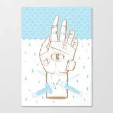 Swimming Lessons Canvas Print