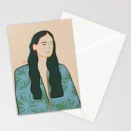 GIRL IN LOVE Stationery Cards