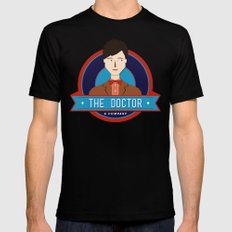 The Doctor & Company Mens Fitted Tee Black MEDIUM
