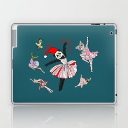 Hipster Holiday Ballerinas Laptop & iPad Skin