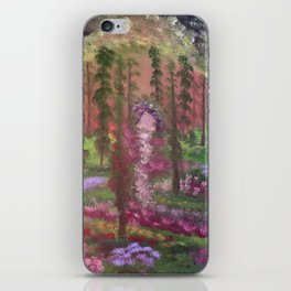 Secret cave to the land of gold iPhone Skin