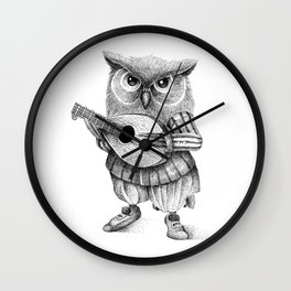 MISTER OWL Wall Clock