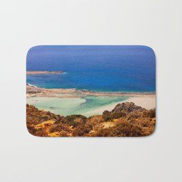 Balos Lagoon, Greece. Bath Mat