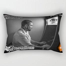 Richie Knucklez - King of Arcades card Rectangular Pillow