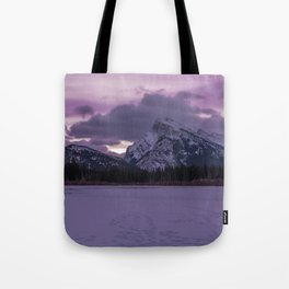 Vermillion Sunrise Tote Bag