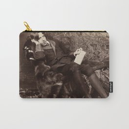Oscar Wilde Lounging Portrait Carry-All Pouch